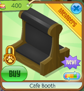 Cafe booth 5