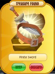 Meet-Cosmo Tiger Pirate-Sword Orange