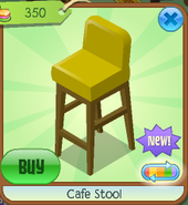 Cafe stool 3