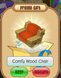 Comfy Wood Chair