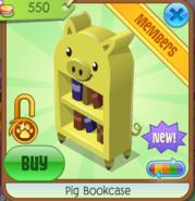 PigBookcaseYellow