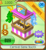 Carnival Game Booth Pink