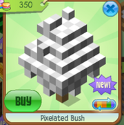 Pixelated bush 5