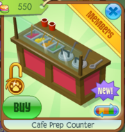 Cafe Prep Counter - Red (1)