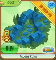 Mossy Ruins blue