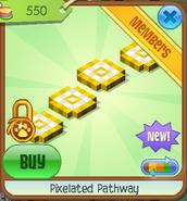 Pixelated pathway 3