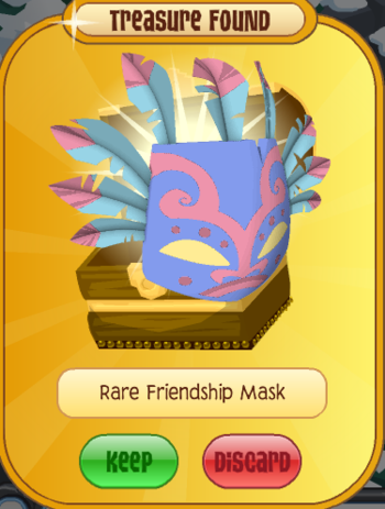 Tiki mask animal jam item worth wiki fandom powered by - Animaljam wiki ...