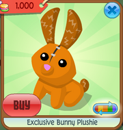 Exclusive bunny plushie 1a