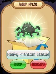 Heavy Phantom Statue (green)