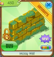 Mossy Wall yellow