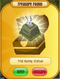 Trial Bunny Statue