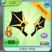 Eclipse Wings yellow
