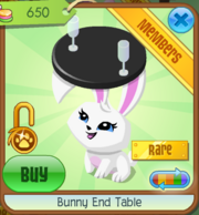 Bunny End Table