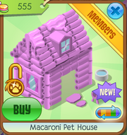 Macaroni pet house1