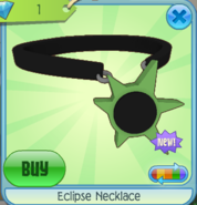 Eclipse Necklace green