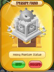 Heavyphantomstatue