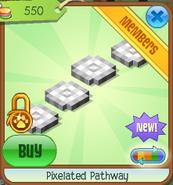 Pixelated pathway 5