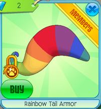 RainbowTailArmor