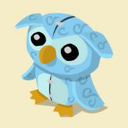 Item Exclusive Owl Plushie ice