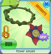 Diamond-Shop Flower-Amulet