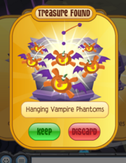 Hanging Vampire Phantoms