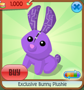 Exclusive bunny plushie 2d