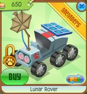 Lunar-Rover Red Shop