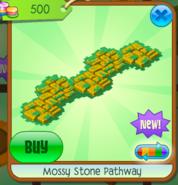 Mossy Stone Pathway yellow