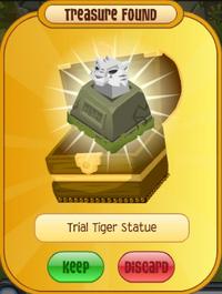 Trial Tiger Statue