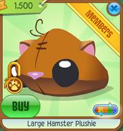 Large-Hamster-Plushie Orange Shop