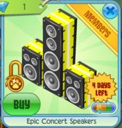 Epic-Concert-Speakers-Yellow