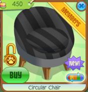 Shop Circular-Chair Black
