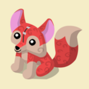 Item Exclusive Fox Plushie red