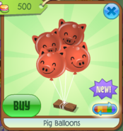 PigBalloons Red(2)