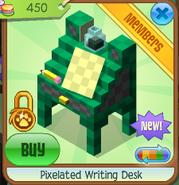 Pixelated writing desk 2