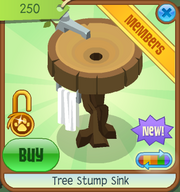 Shop Tree-Stump-Sink