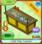 Cafe Prep Counter - Yellow (4)