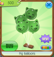 PigBalloons Green(3)