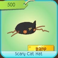 Scary Cat Hat (Rare)