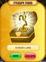 Graham Cracker Lamp