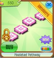 Pixelated pathway 4
