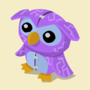 Item Exclusive Owl Plushie purple