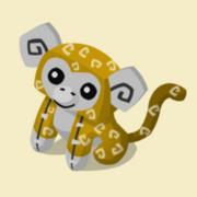 Item Exclusive Monkey Plushie yellow
