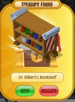 Sir Gilbert's Bookshelf