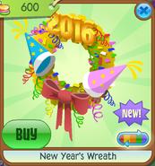 New-Years-Shop New-Years-Wreath Yellow