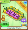 Caterpillar couch