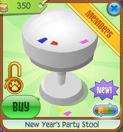 New-Years-Shop New-Years-Party-Stool White