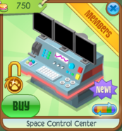 Shop Space-Control-Center Red