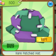 Rare Patched Hat