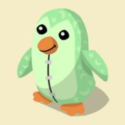 Item Exclusive Penguin Plushie green